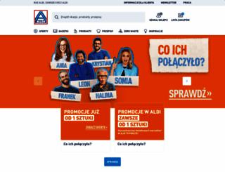 aldi.pl screenshot