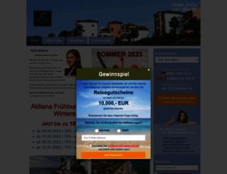 aldiana.reisedirekt.de screenshot