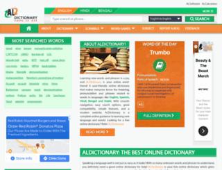 aldictionary.com screenshot