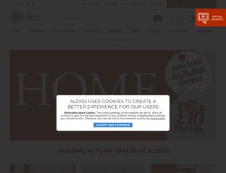 aldiss.com screenshot