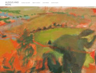 aldouseveleigh.com screenshot
