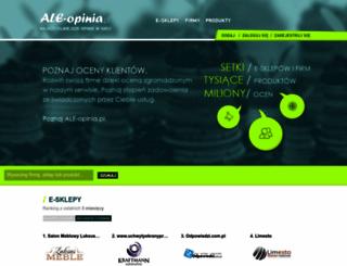 ale-opinia.pl screenshot