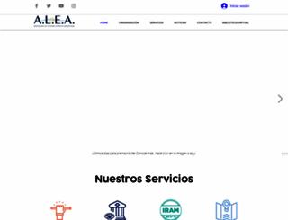 alea.org.ar screenshot