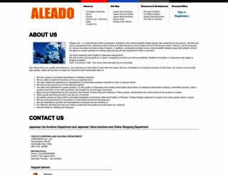 aleado.com screenshot