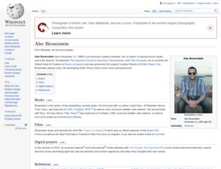 alecbrownstein.com screenshot