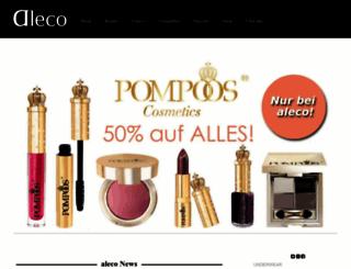 aleco-online.de screenshot