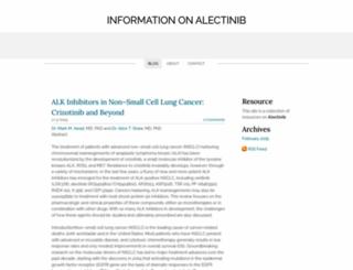 alectinib.weebly.com screenshot