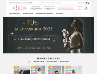 aleda-spb.ru screenshot