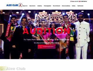aleeclub.net screenshot