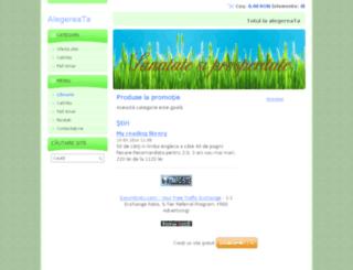 alegereata.webnode.ro screenshot