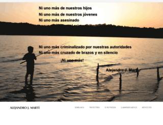 alejandrojmarti.com screenshot
