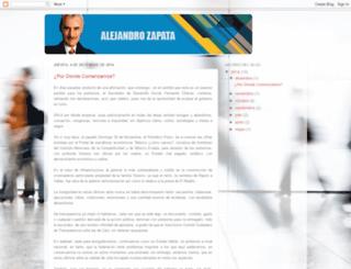 alejandrozapatap.blogspot.mx screenshot