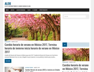 alek.com.mx screenshot