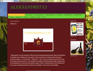 aleksandreuli.blogspot.be screenshot