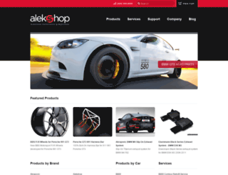 alekshop.com screenshot