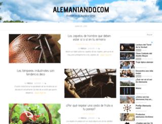 alemaniando.com screenshot