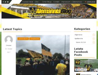 alemanniablog.de screenshot