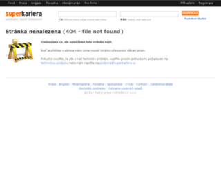 alenarychla.superkariera.cz screenshot
