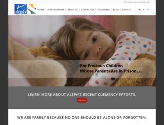 aleph-institute.org screenshot