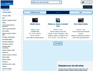 alera.cz screenshot