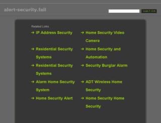 alert-security.fail screenshot