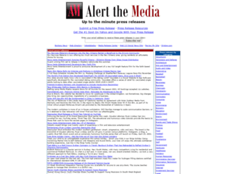 alert-the-media.com screenshot