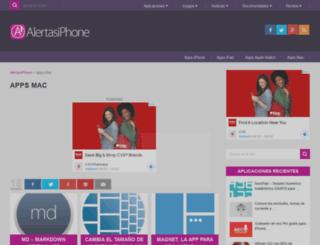 alertasmac.com screenshot
