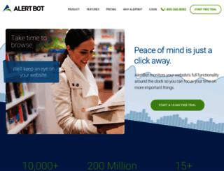 alertbot.com screenshot