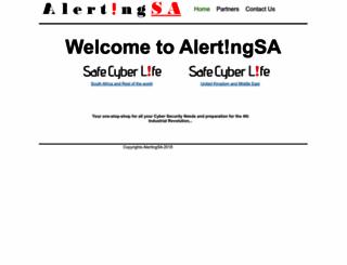 alertingsa.co.za screenshot