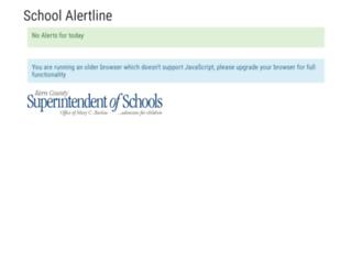 alertline.kern.org screenshot