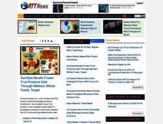 alerts.rttnews.com screenshot