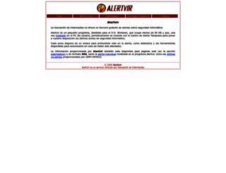 alertvir.es screenshot