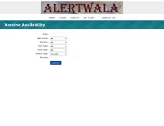 alertwala.com screenshot