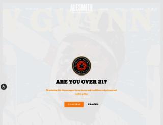alesmith.com screenshot