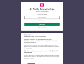 aletta.itslearning.com screenshot