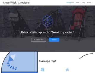 alewozki.pl screenshot