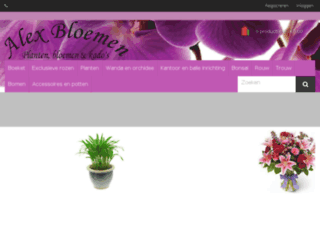 alex-bloemen.com screenshot