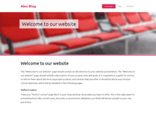 alex-blog03.webnode.com screenshot