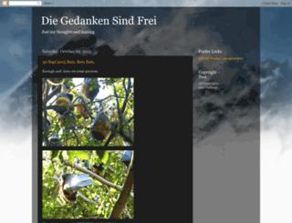 alex-diegedanken.blogspot.com screenshot