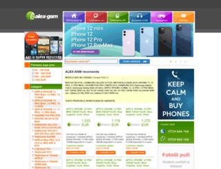 alex-gsm.ro screenshot