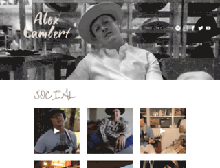 alex-lambert.com screenshot