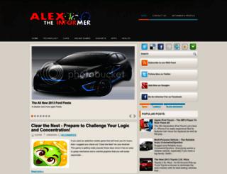 alex-the-informer.blogspot.com screenshot