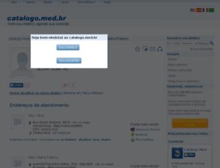 alex-vieira-franco.catalogo.med.br screenshot