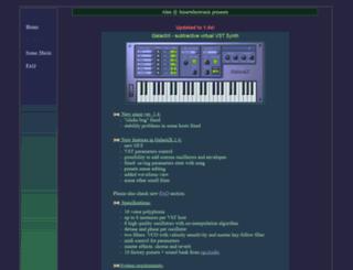 alex.smartelectronix.com screenshot