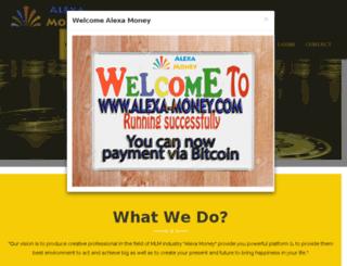 alexa-money.com screenshot