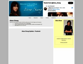 alexachung.co.uk screenshot