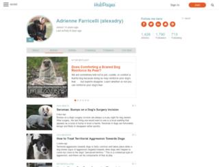 alexadry.hubpages.com screenshot