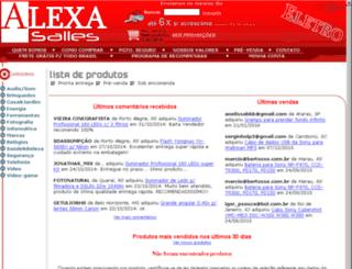 alexaeletro.com.br screenshot