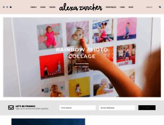 alexamariezurcher.com screenshot