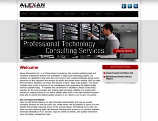 alexan.com screenshot
